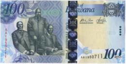 Botswana 100 Pula (P33) 2009 -UNC- - Botswana