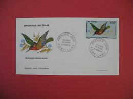 FDC 1967 République Du Tchad - Melittophagus Oiseaux Du Tchad Poste Aérienne  - Fort-Lamy - Tchad (1960-...)