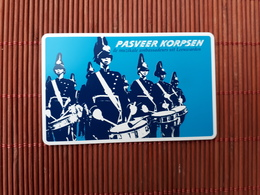 Phonecard Pasveer Korpsen (Mint,Neuve) 2 Scans Rare - Netherlands