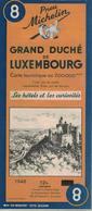 Grand-Duché De Luxembourg. Cartes Michelin. 1948. - Cartes Routières