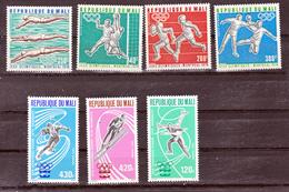 Mali PA 267/269, 276/279 Montréal Innsbruck 76 Neuf ** TB MNH Sin Charnela - Mali (1959-...)