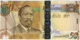 Botswana 50 Pula (P32) 2009 -UNC- - Botswana