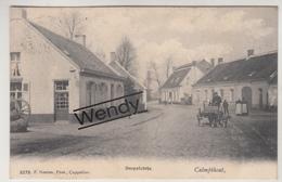 Kamthout (dorpzichtje Met Hondenkar) Uitg. Hoelen N° 3279 - Kalmthout