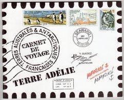 TAAF - CARNET DE VOYAGE  - N° C308  (2001) - Carnets