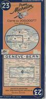 Genève-Bern. Cartes Michelin. 1940. - Cartes Routières
