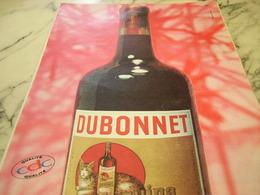 ANCIENNE PUBLICITE BOISSON DUBONNET 1960 - Affiches
