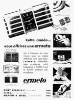 """PUB MONTRES ERMETO De """" MOVADO """"   1931  ( 18 ) - Jewels & Clocks"""