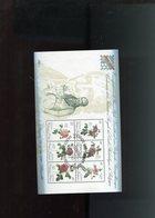 Belgie 1988 BL64 GESTEMPELD Flowers Roses Redouté Monarchie OCB 22.50 - Bloques 1962-....