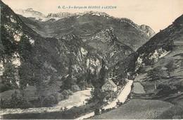 CPA 64 Pyrénées Atlantiques Gorges De Bedous à Lescun - France