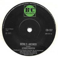 """Atomic Rooster  """"  Devil's Answer  """" - Vinyles"""