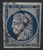 Cérès N° 4 Oblitéré - Cote : 65 € - 1849-1850 Cérès
