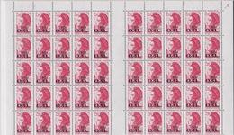 FRANCE Feuille Timbre N° 2530 (planche De 100 Timbres 07-04-88) Non Pliée.1er Choix. - Feuilles Complètes