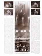 "L'ART Des FUNAMBULES ( LA TROUPE ""WALLENDA "") 1931 - Théâtre"