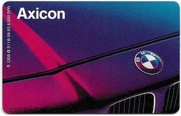 Germany - D1 Axicon Mobilfunkdienste GmbH 2 – BMW - O 0311B - 09.93, 6DM, 6.000ex, Used - Germany