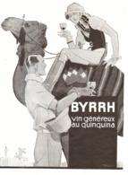 """PUB  """" BYRRH """"  Par  Georges LEONNEC   1930  (6 ) - Autres"""