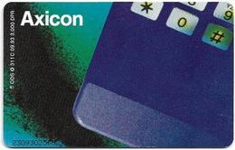 Germany - D1 Axicon Mobilfunkdienste GmbH 3 – Calculator - O 0311C - 09.93, 6DM, 3.000ex, Used - Germany
