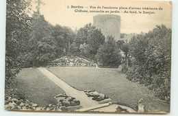 DEP 91 DOURDAN ANCIENNE PLACE D'ARMES - Dourdan