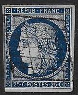 Cérès N° 4 Oblitéré - Cote : 65 € - 1849-1850 Ceres