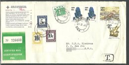 (1112) 1990 Einschreiben Swakop To Omaruru, Taxed 26c - Namibia (1990- ...)