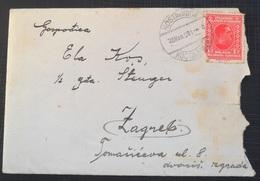Kingdom Of Yugoslavia Old Letter Pismo Sa Sadrzajem, Stamp KOSTAJNICA 1931 - 1931-1941 Royaume De Yougoslavie
