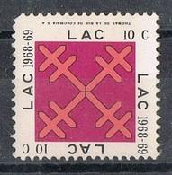 Sello Viñeta L.A.C. Beneficencia Mujer Y Niños. COLOMBIA 1968-1969. Label, Cinderella ** - Colombia