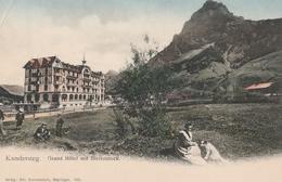 Cartolina Non Viaggiata - Not Sent - Kandersteg, Grand Hotel - Svizzera
