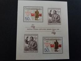 Tchécoslovaquie > Blocs-feuillets N° 76A ** - Blocs-feuillets
