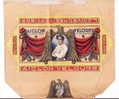 CHOCOLATERIE  AIGLON VERVIERS  / L. GRIVEGNEE / CHOCOLAT VELOURS - Vieux Papiers