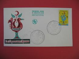 FDC 1959 Tunisie - Le Croissant Rouge - Tunisie (1956-...)