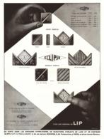 """PUB MONTRES  """" ECLIPSO """" De  """" LIP """"   1930  ( 1 ) - Jewels & Clocks"""