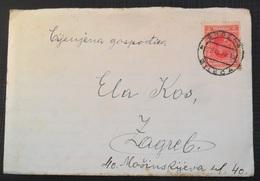 Kingdom Of Yugoslavia Old Letter Pismo Sa Sadrzajem, Stamp BILECA 1930 - 1931-1941 Royaume De Yougoslavie