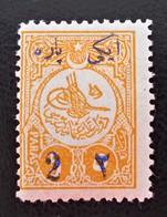 SURCHARGE 1910 - NEUF * - YT 159 - MI 179C - DENTELE 12 - 1858-1921 Empire Ottoman
