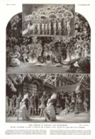 """3 TABLEAUX De MUSIC-HALL Aux """" FOLIES-MARIGNY """"   1930 - Théâtre"""