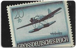Germany - Historische Zeitdokumente - Aircraft Stamp - O 0285 - 10.92, 12DM, 5.000ex, Used - Germany
