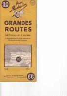 France En 2 Cartes. N° 99. Cartes Michelin. 1948. - Cartes Routières