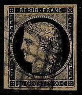 Cérès N° 3b Oblitéré - Cote : 210 € - 1849-1850 Ceres