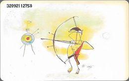 Germany - Olympia 2000 Berlin 3 - Archery - O 0241 - 09.92, 6DM, 13.000ex, Used - Germany