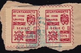 National Local Stamps LINARES - Emisiones Nacionalistas