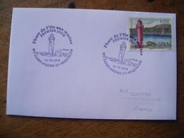 FDC  St Pierre Et Miquelon, Phare De L'île Aux Marins - FDC