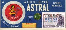 France - 273 - Dixième Astral Vierge - 3 ème Tranche 1965 - Loterijbiljetten