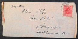 Kingdom Of Yugoslavia Old Letter Pismo Sa Sadrzajem, Stamp GOSPIC 1931 - 1931-1941 Royaume De Yougoslavie