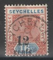 Seychelles - YT 10 Oblitéré - 1893 - Seychelles (...-1976)