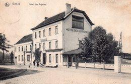 CPA Rare, Genck, Hotel Des Artistes - Genk