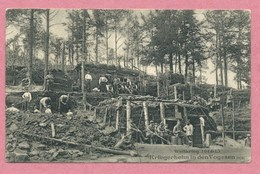 VOGESEN - Carte Allemande - Kriegerheim - Feldpost 39. Reserve Division - Guerrre 14/18 - Frankrijk