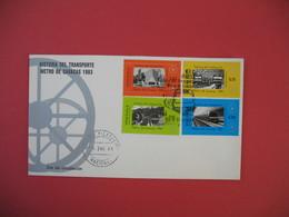 FDC 1984  Venezuela - Historia Del Transporte Métro De Caracas 1983 - Venezuela