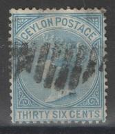 Ceylon - Ceylan - YT 55 Oblitéré - Ceylan (...-1947)