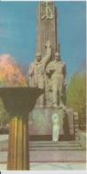 Uzbekistan Tashkent  14 Turkestan Comissars Monument Unused - Monuments