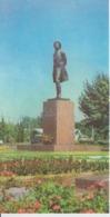 Uzbekistan Tashkent Pushkin Monument Unused - Monuments