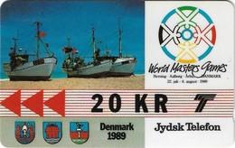 Denmark - Jydsk - World Masters Games - GPT - 20Kr - 2JYDA - 1989, 4.500ex, Mint No Blister - Denmark