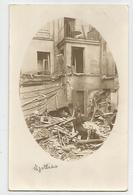 Carte Photo écrit Rue Nollay Rue Nollet Paris ? Dévastée Bombardement Guerre 14-18 ? 2 Scans - Cartes Postales